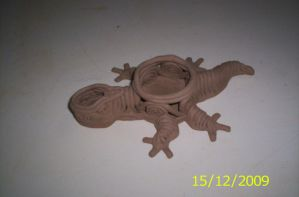 clay coil lizard by titan9393