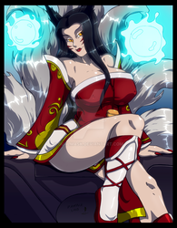 -Ahri- colors by Dualmask