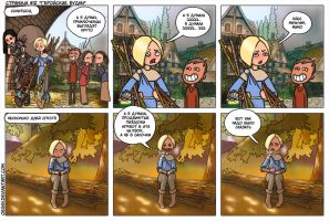 12 page Skyrim comics rus ver by Oessi
