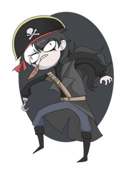 Pirate Blackquill by 0-DAI-0