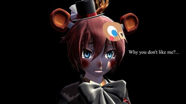 Poor Toy  Freddy((( by AireVee
