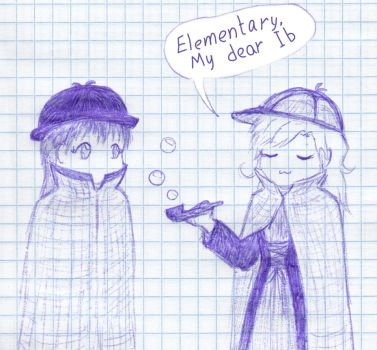 Elementary, my dear Ib by Natalya-Chan