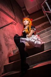 Asuka - Stairs by Ototsuki