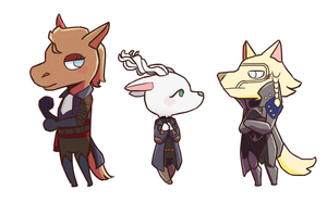 inquisitor x animal crossing by wienczy