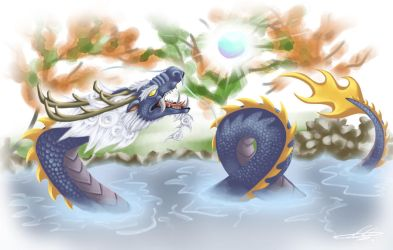 Year of the Water Dragon - 2012 by Silent-Neutral