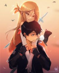Kirito And Asuna: White Rose by rossdraws
