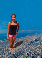 Giga giantess Nataly by giantess-mirror