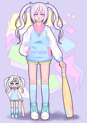 Pastel girl challenge - IREYMOON by IREYMOON