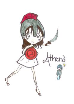 Little Athena by smudgedfingers