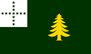 Idea for a new Flag of Vermont (no. 2) by Marmocet