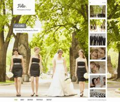 Free Folio Photography PSD Theme by bestpsdfreebies