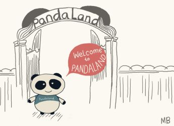 Welcome to pandaland by Mik2mei