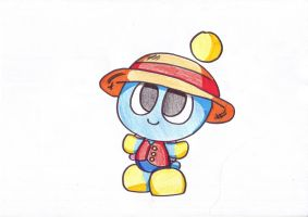 Chao Luffy by LeniProduction