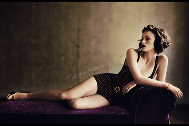 Keira colorization vintage by 1TYMillenium