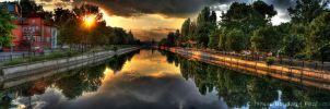 Panorama River HDR by HDRenesys