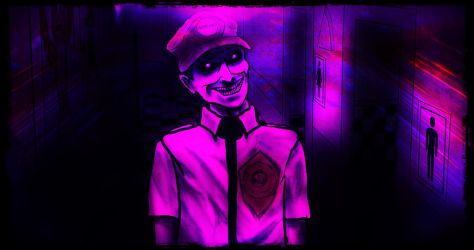 'Purple Guy' From Five Nights At Freddy's by SicSlipknotMaggot