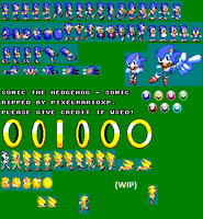 Sonic 1 - Game Gear Custom Sprites (Unfinished) by Dariuscox357