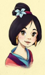 Mulan by Marmaladecookie