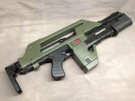 All metal pulse rifle by Matsucorp