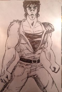 Kenshiro. by russianspy86