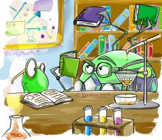 Chemist Lab Research by CrazyPlantMae