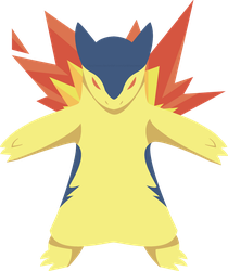 Typhlosion thingy by LordStarsCreamy