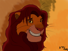 Adult Simba by kosko99
