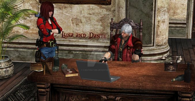 Dante...... What is this? by x-DeathbatGirl