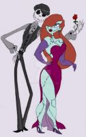 Bonedaddy and Sassy Sally by Lily-pily