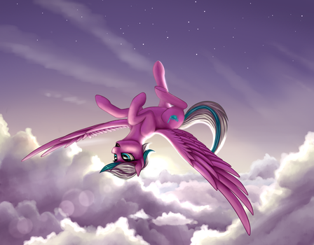 Above the clouds by Pony-Way
