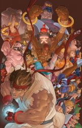 Street Fighter Tribute by Hanzo COLORED by Voodoodwarf