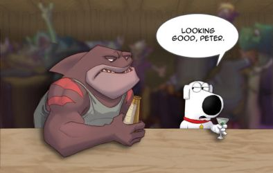 Dk Family Guy Crossover by Dreamkeepers