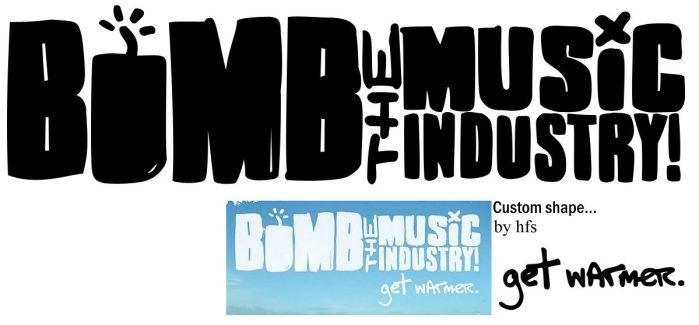 Bomb the Music Industry logo by hfs991hfs