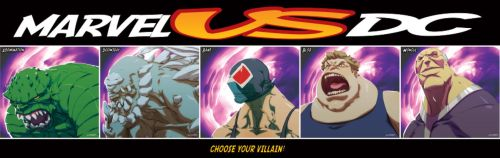 Choose your Villain by theCHAMBA