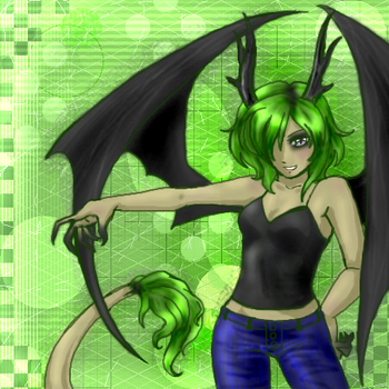Mean and Green by DragongirlLilas
