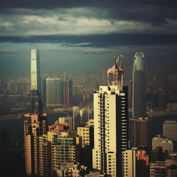Surreal Hong Kong 2 by Fotowizjer