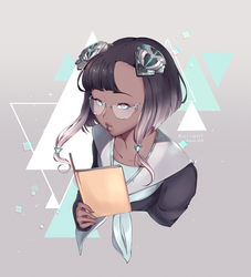 CyberAcademia : Literature Girl by Auriant
