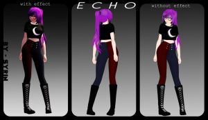 [MMD] **NEW MODEL** Echo by o0Glub0o