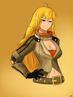 RWBY Art Challenge: Yang by CHE3ZY