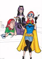 Misfit and the Birds Of Prey by BevisMusson