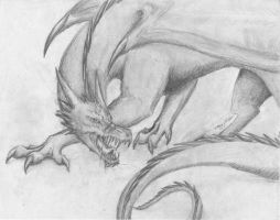 Another Dragon... by Wulfheart101
