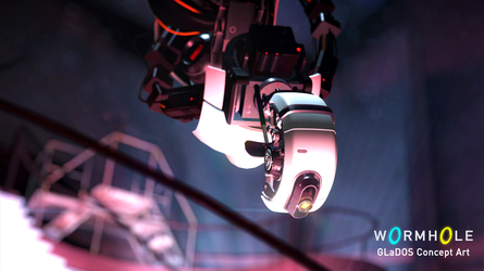 Wormhole - GLaDOS Concept Art by hi2tai