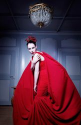 the red dress by LisaDenise