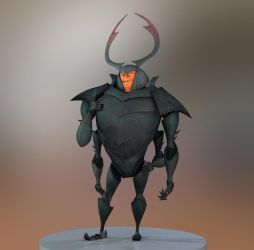 Beetle 3D by kevinkosmo