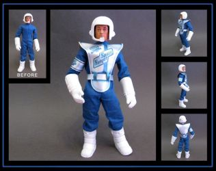 Action Man Space Ranger International - custom by nightwing1975