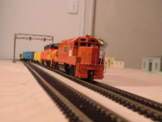 Woodstock and Southern GP40-2 #675 by Tracksidegorilla1