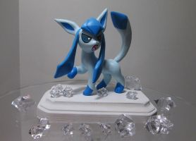 Free Commission Winner: Glaceon! by EarthenPony