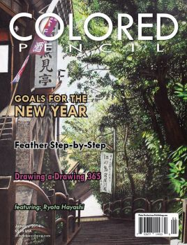 COLORED PENCIL Magazine - January 2014 by ColoredPencilMag