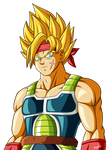SSJ Bardock [no background] by Alienlina