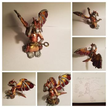 Steampunk Dragon by heathergk0